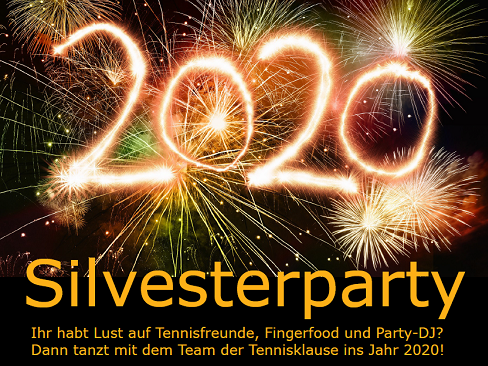 Silvesterparty in der Tennisklause